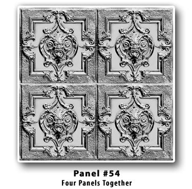 Brian Greer S Tin Ceilings Panel Design 54 Four